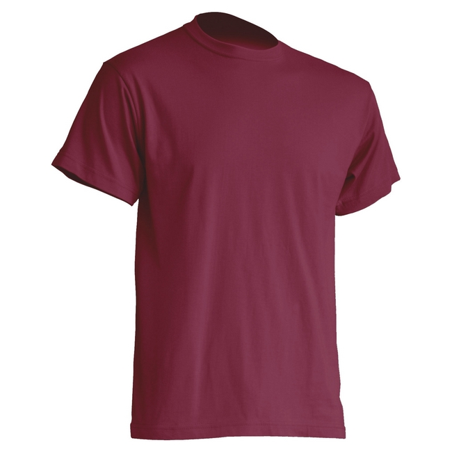 Футболка 'JHK' 'REGULAR PREMIUM T-SHIRT' BURGUNDY
