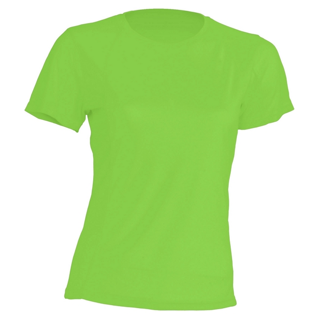 Футболка 'JHK' 'SPORT T-SHIRT LADY' LIME FLUOR