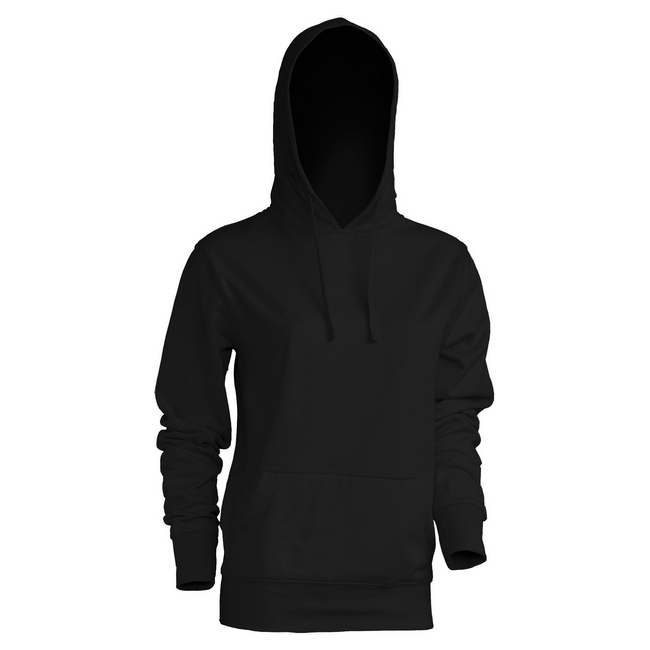 Толстовка 'JHK' 'KANGAROO SWEATSHIRT LADY' BLACK