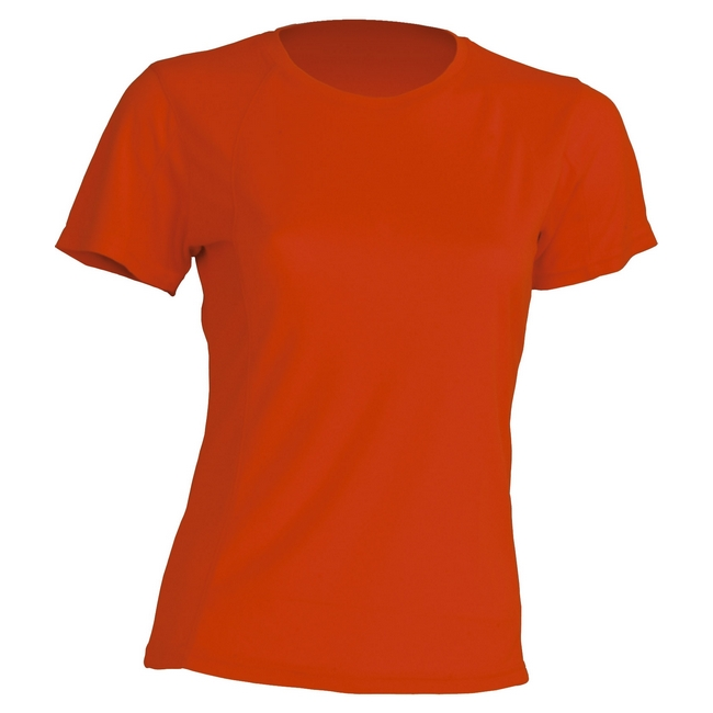 Футболка 'JHK' 'SPORT T-SHIRT LADY' ORANGE FLUOR