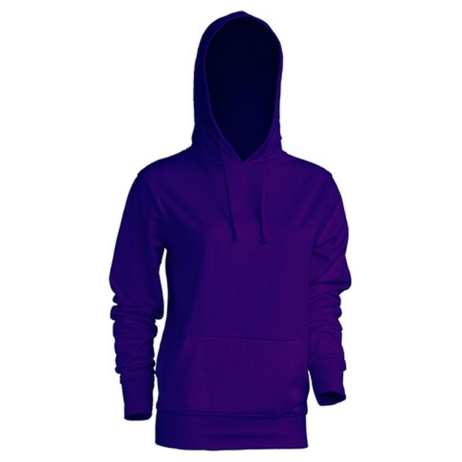 Толстовка 'JHK' 'KANGAROO SWEATSHIRT LADY' PURPLE