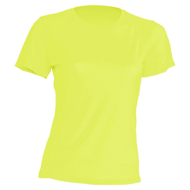 Футболка 'JHK' 'SPORT T-SHIRT LADY' GOLD FLUOR